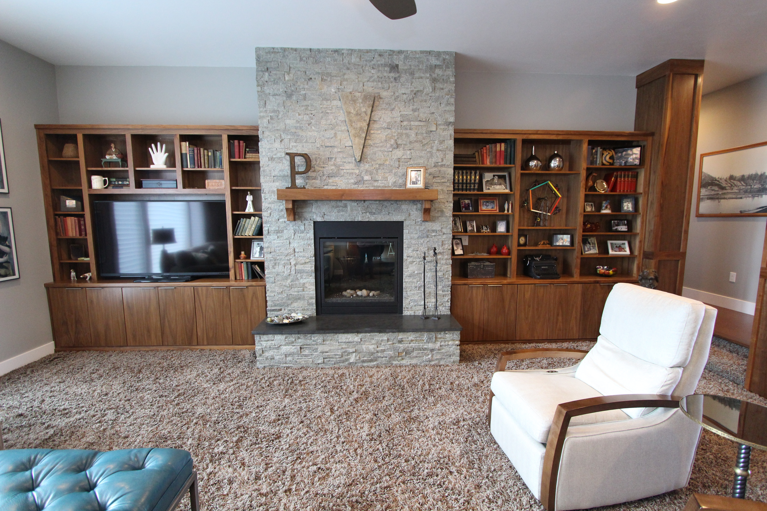 inc bookcase maple walnut c with woodworking to nina bookcases glaze ceiling floor a custom