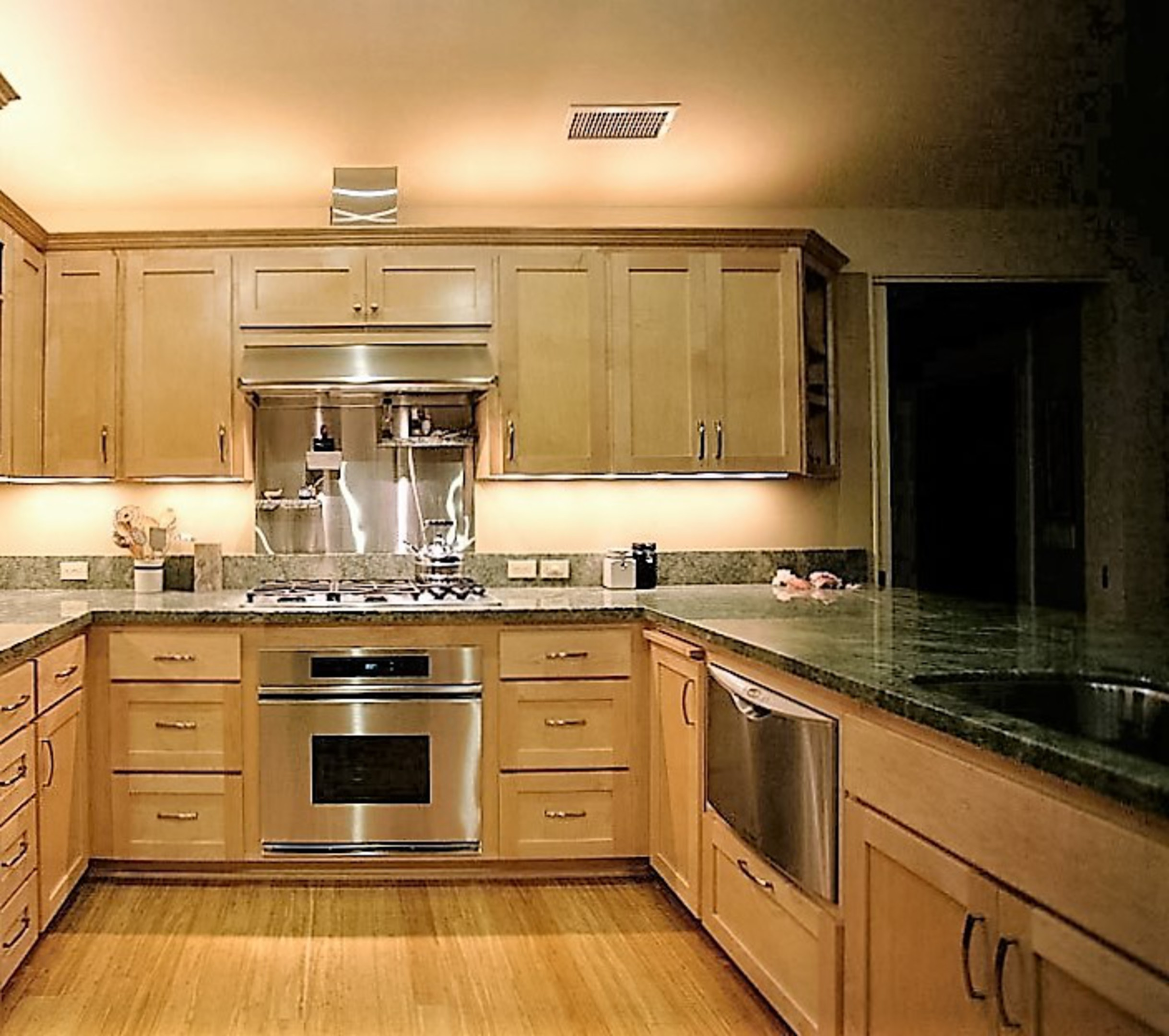 Space Above Kitchen Cabinets: Affordable Custom Cabinets