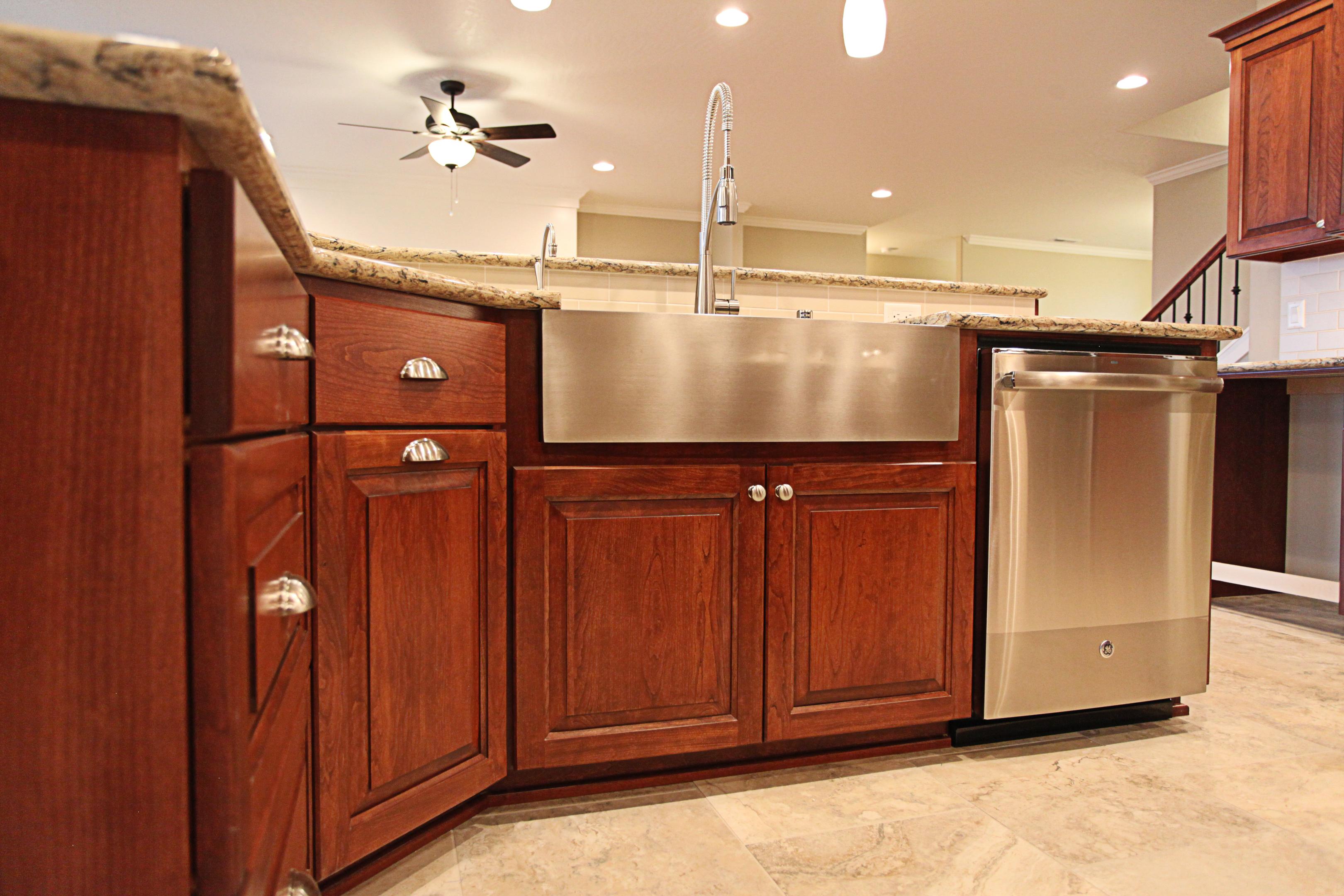 Pin Dark Cherry Raised Panel Doors Semi Custom Bathroom Cabinets On Pinterest