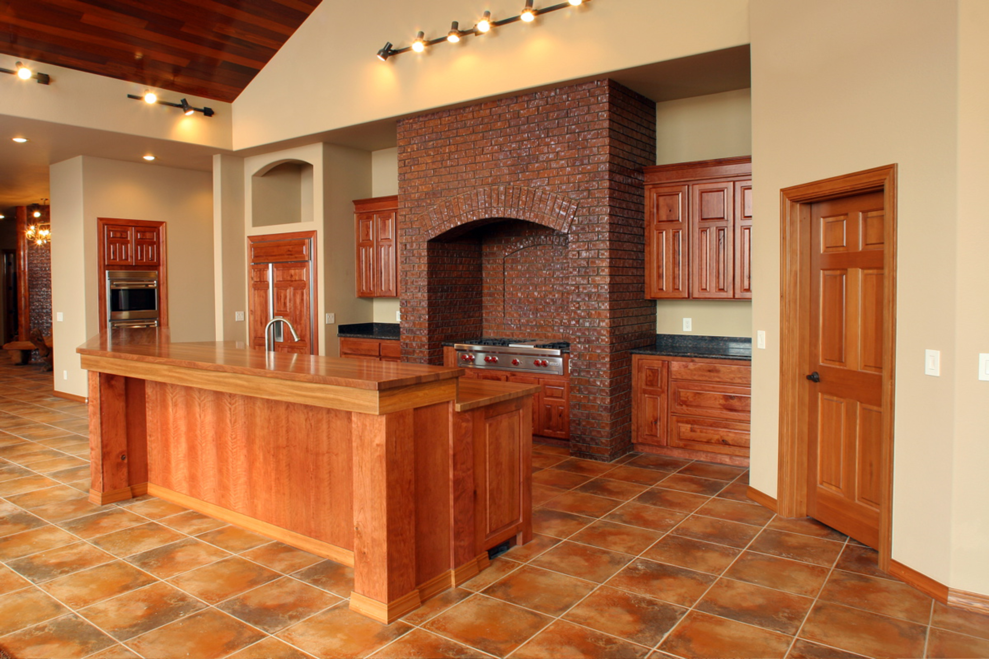 How to create a raised bar in your kitchen how tos diy for Affordable custom kitchen cabinets