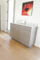 Thumb misc  contemporary style  custom laminate  grey color  frameless construction  banded door  buffet